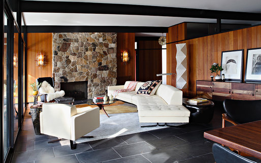 La Cañada Mid Century by Jamie Bush & Co. Photo: Laura Hull Photography
