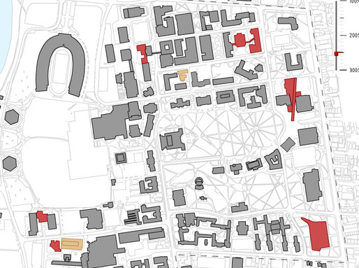 Campus site plan