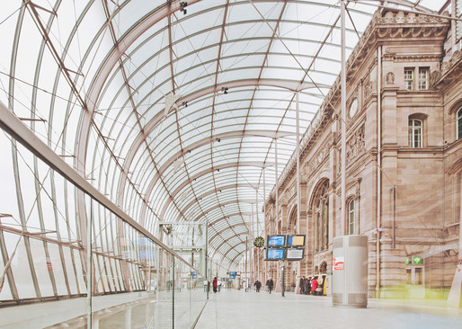 Train Station, Strasbourg © Franck Bohbot