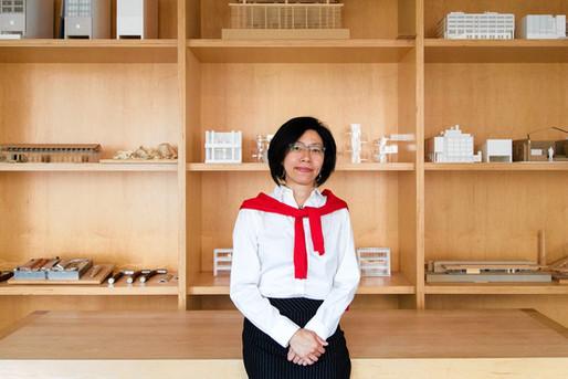 Rosa Sheng, an architect with Bohlin Cywinski Jackson in San Francisco. Jason Henry for The Wall Street Journal.
