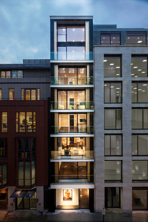 10 Hanover St in London. Image courtesy of Squire and Partners.