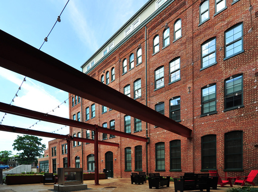 2015 Rudy Bruner Award for Urban Excellence winner: Miller's Court in Baltimore, Maryland. Photo: Seawall Development Company.