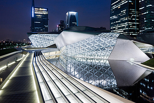 Guangzhou Opera House in Guangzhou, China (Photo: Iwan Baan)