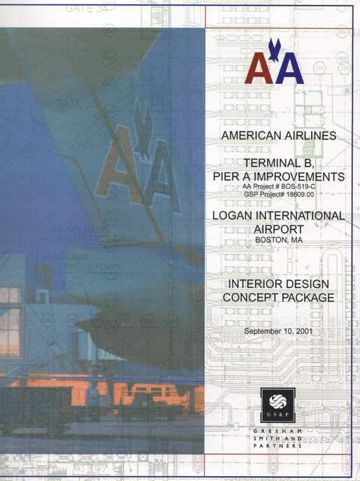 American Airlines at Boston Logan International Airport ...