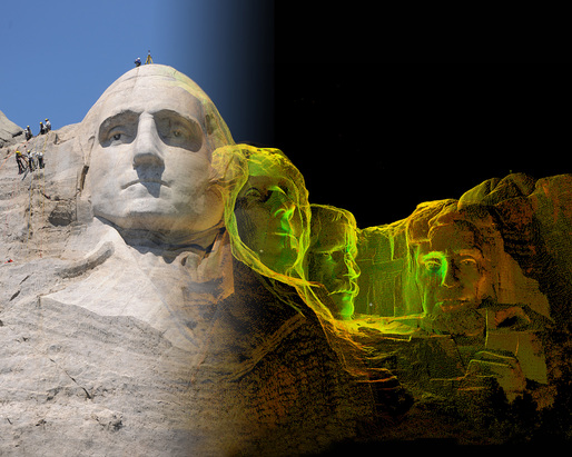 Officially launched on Oct. 21, the CyArk 500 Challenge aims to digitally preserve 500 at-risk cultural heritage sites around the world for the next five years. Mount Rushmore is one of the sites already preserved. Image courtesy of CyArk.