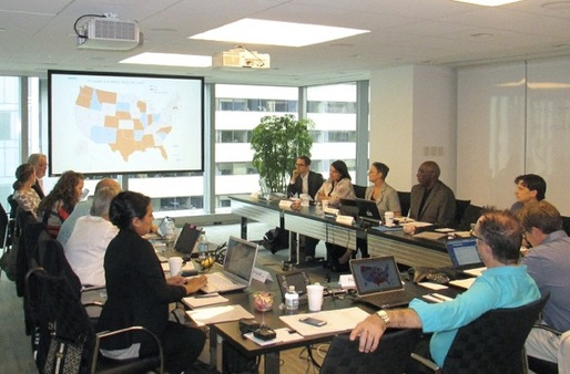 The Future Title Task Force's first meeting. Image courtesy of NCARB.