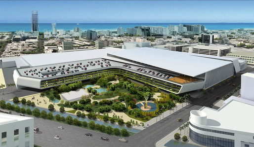 Arquitectonica's Proposal for the Convention Center.