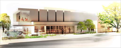 Rendering of The Silverlake Conservatory of Music by Parallax Architecture.