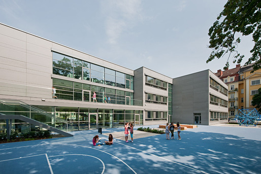 Schoolyard (Photo: Hertha Hurnaus)