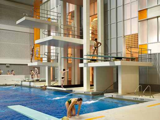 University of Tennessee Aquatics Center, Architect: HNTB © Brad Feinknopf