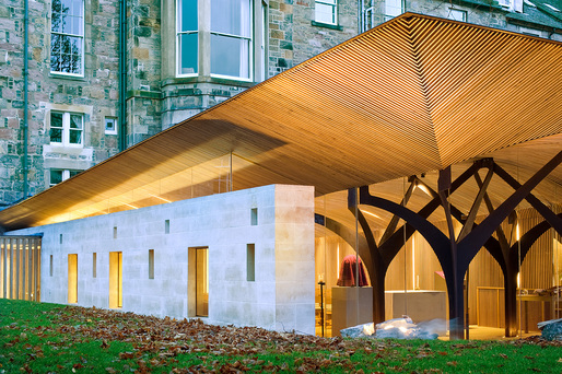 The Chapel of Saint Albert the Great, Edinburgh, by Simpson & Brown Architects. Photo: Chris Humphreys