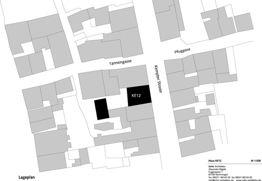 Site plan (Image: SoHo Architektur)
