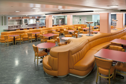Paul williams coffee shop faculty dining room at rfk for Best private dining rooms in baltimore