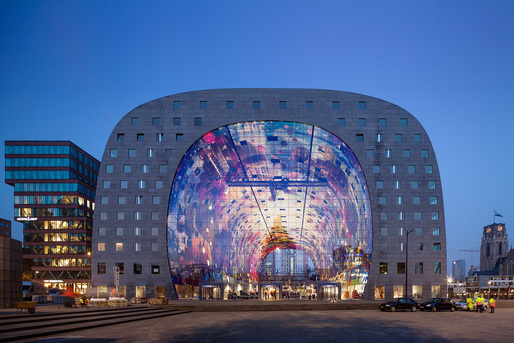 Designs of the Year 2015 Architecture nominee: MARKTHAL ROTTERDAM - Rotterdam, the Netherlands. Designed by MVRDV. Photo courtesy of Designs of the Year 2015.