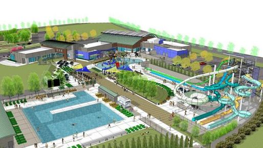 Artist rendition of the planned aquatic complex at Emerald Glen Park in Dublin. (City of Dublin) Image via sanfrancisco.cbslocal.com.