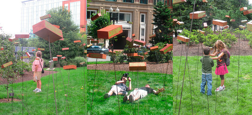 """Freedom of Information"" Art Installation. (Figment Art Festival, Boston, MA, 2012) Humorous commentary on our use and trust of the internet for learning, using the history of Boston as an example."
