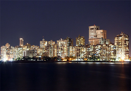 Following the devastating earthquake in Nepal, engineers question safety norms and building codes in India. Here a look at the dense skyline of Downtown Mumbai. (Photo: Jasvipul Chawla; Image via Wikipedia)