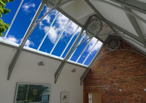 metal ceiling LED skylight