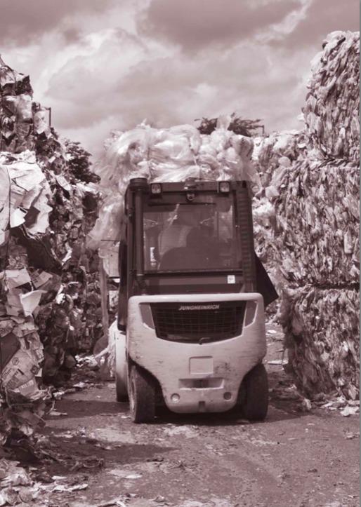 Recycling at Viridor Materials Recovery Facilty, Crayford, England, June 8, 2010. David Hoffman