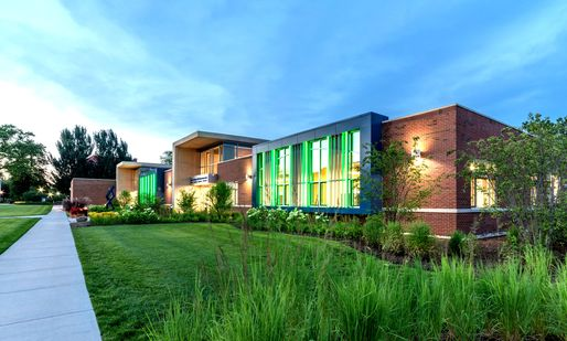 Aurora University's John C. Dunham STEM Partnership School Awarded LEED Platinum