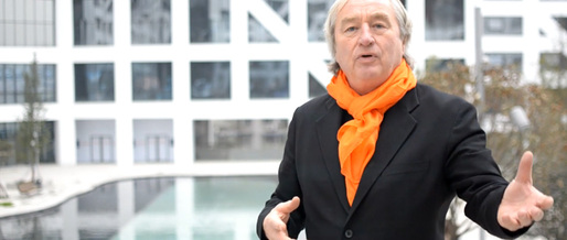 Still from &quot;Sliced Porosity Block - A Conversation with Steven Holl&quot;