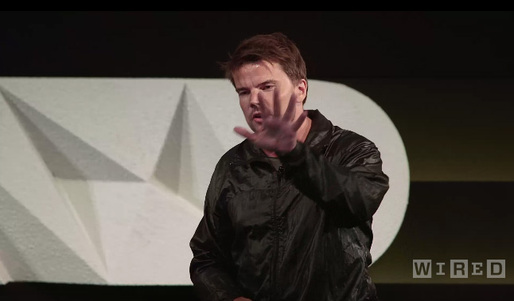 Still from Bjarke Ingels' recent presentation at WIRED by Design last month at Skywalker Sound, California. Image via wired.com.