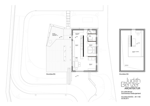Floor plan, 1st & 2nd floor