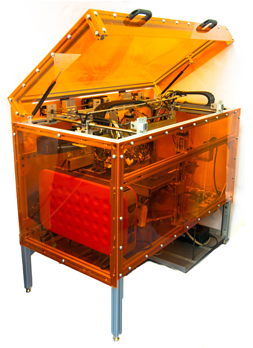 MIT's new MultiFab 3D printer. Image: MIT