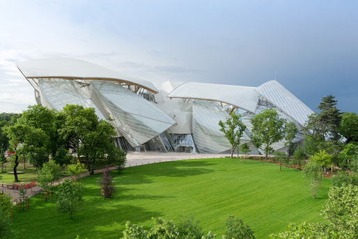 Designed by Frank Gehry, the Fondation Louis Vuitton will open its doors in Paris on October 27, 2014. Photo: Iwan Baan