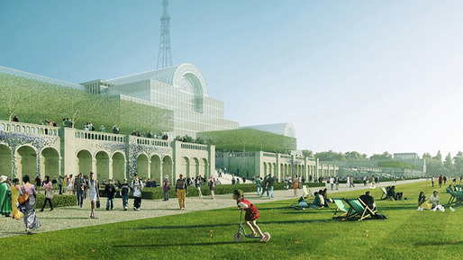 Illustration of the reconstructed Crystal Palace