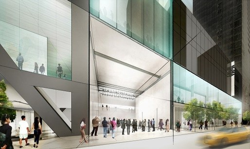 Concept sketch for MoMA. View from 53rd Street. Credit: Diller Scofidio + Renfro. Image via Architect Magazine.