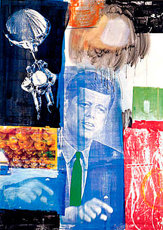 Figure 15 - Retroactive 1 by Robert Rauschenberg