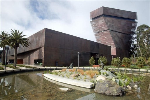 De Young Museum by Herzog and de Meuron