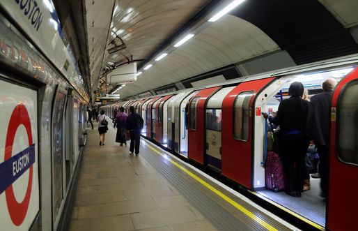 Opened in 1969, the Victoria Line runs across central London. Image via Wikipedia.