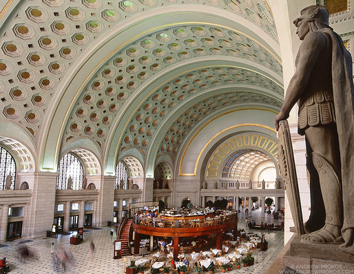 Union Station, Washington DC. Renovation Architect: HOK © Andrew Prokos