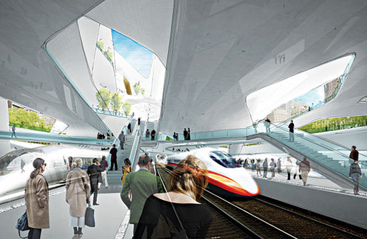 Diller Scofidio + Renfro's rendering of what a new Penn Station might look like. (Photo: Courtesy of Diller Scofidio + Renfro)