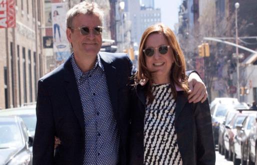 Mark Wigley and Beatriz Colomina. Photo by Max Zambelli.