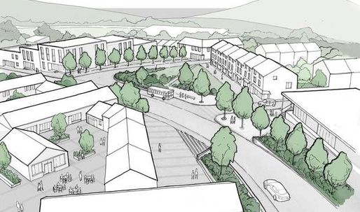Plans approved for Damien Hirsts village on the British coast