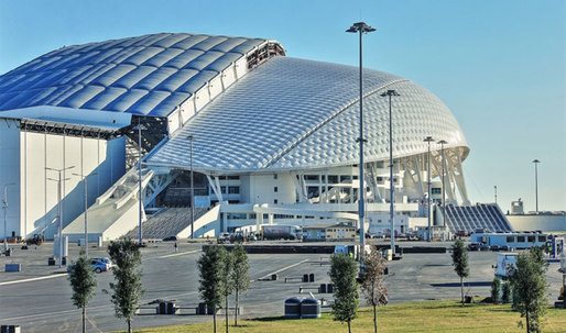 Olympics deja vu: Sochi's Fisht Stadium vs. AT&T Stadium