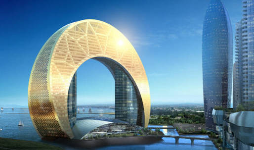 Half moon hotel shows Bakus stellar architectural ambitions