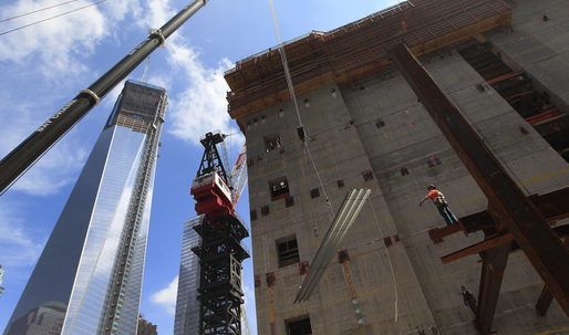 The growth of a skyscraper: One WTC in photos
