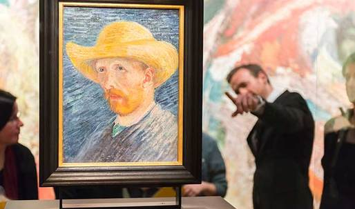 Van Gogh Museum gets multicoloured make-over