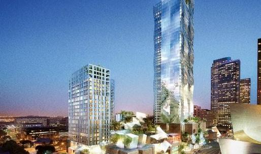 Developer Unveils New Plan for Grand Avenue, sans Gehry