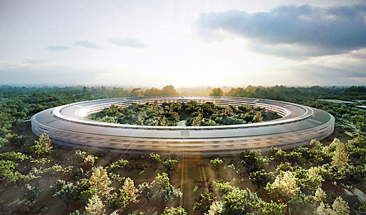 Plans for new Apple HQ, by Norman Foster, officially released