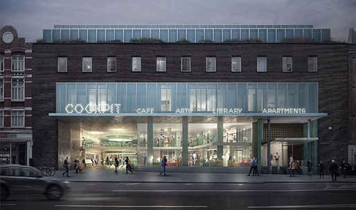 Cockpit Arts building in Camden may be redeveloped as part of proposed overhaul of Holborn Library