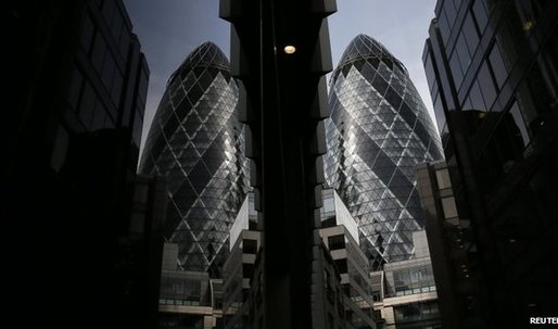 London's Gherkin is put up for sale