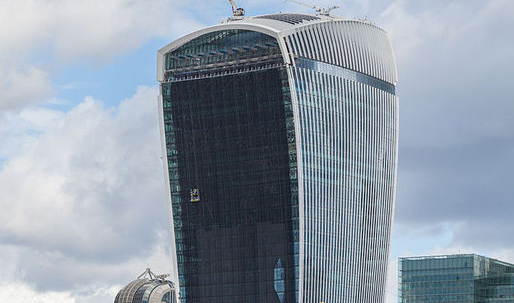 Walkie Talkie Tower summons the elements again — this time its wind!