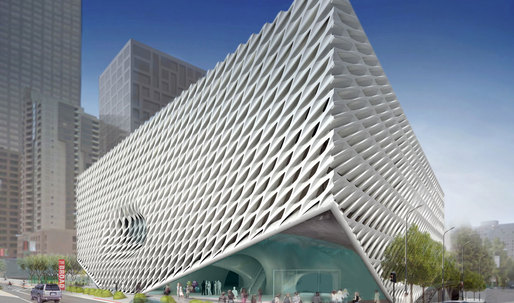 Eli Broad's art museum, designed by DS+R, to open in late 2014 and will offer free admission