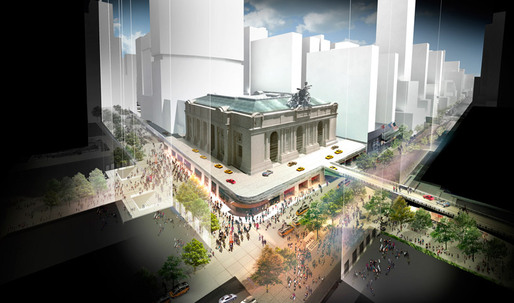 The Next 100 – Foster + Partners re-imagines Grand Central Terminal for 2013 Centenary
