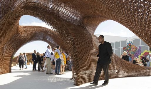 "SHoP Architects' ""Flotsam & Jetsam"" installation is world's largest 3D-printed object"